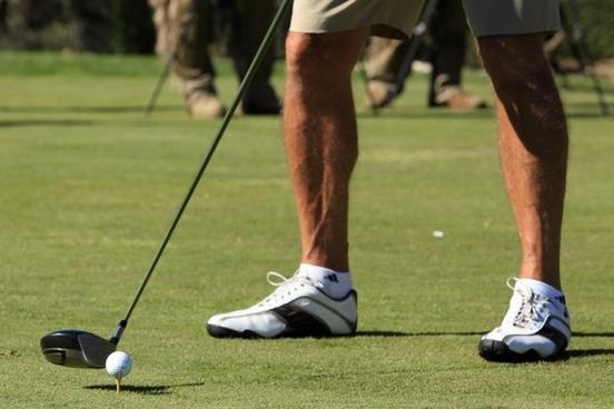 golf tee course