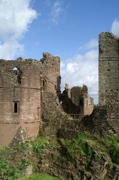 goodrich castle england castle