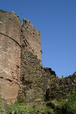 goodrich castle england herefordshire