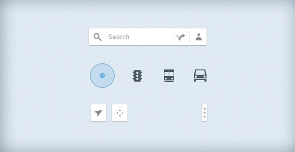 Google Map UI