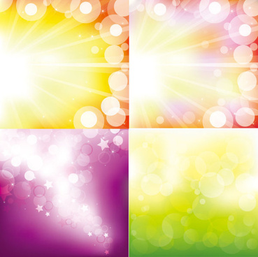 gorgeous bright background vector graphic