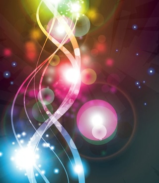 gorgeous bright starlight effects 02 vector