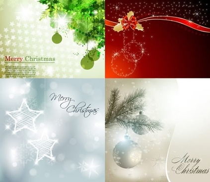 christmas backgrounds elegant shiny sparkling baubles decor