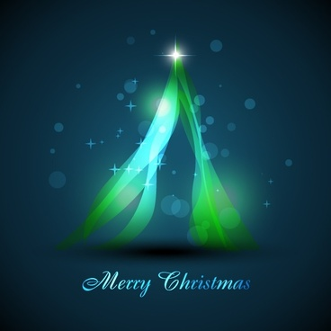 christmas background twinkling bokeh lights fir tree icon