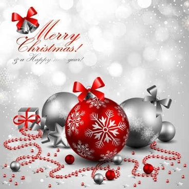 Gorgeous Christmas vector background