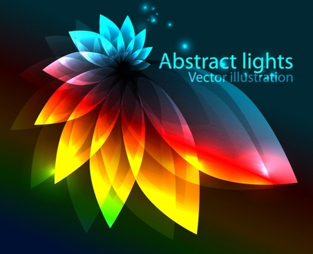 gorgeous colorful dazzling bright background vector