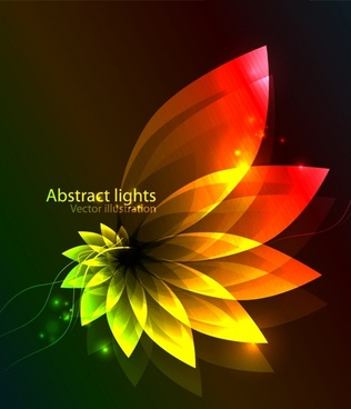 gorgeous colorful dazzling bright vector