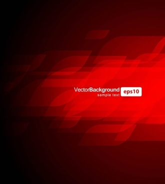 gorgeous dynamic red background box 03 vector