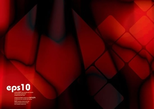 gorgeous dynamic red background vector