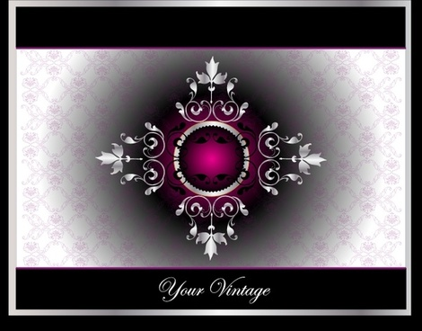 decorative background gorgeous symmetric decor