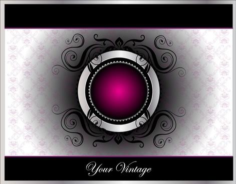 decorative background gorgeous symmetric shiny round button decor