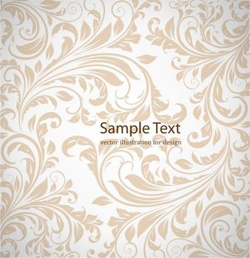 european pattern template classical leaves decor curves design