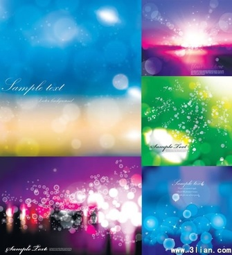 decorative background templates colorful abstract sparkling bokeh decor