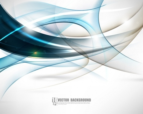 gorgeous fashion dynamic flow line lines vector background