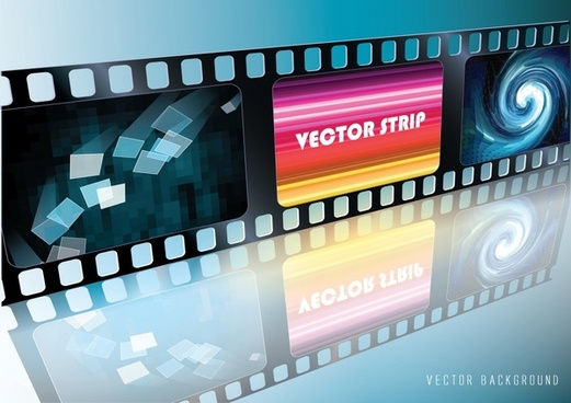 gorgeous film background vector