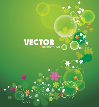 gorgeous flowers shading 03 vector