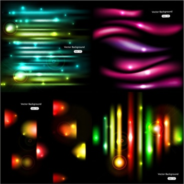 gorgeous glow background vector