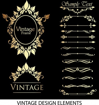 gorgeous lace pattern vector