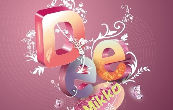 Gorgeous Letter Composition