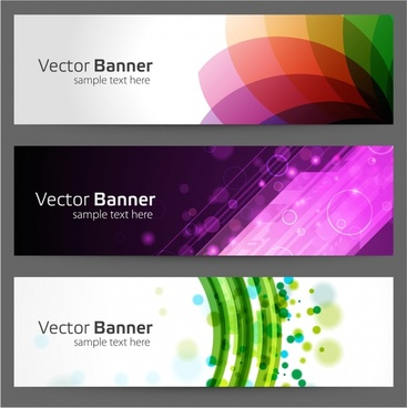 gorgeous long cards fads notes vector