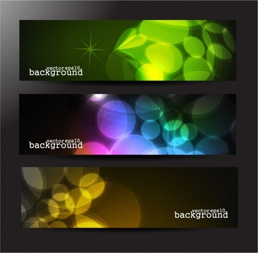 gorgeous long cards fads vector