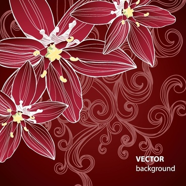 gorgeous pattern background 05 vector