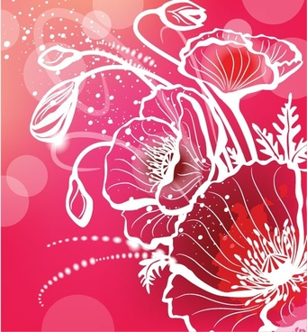 gorgeous pattern background 06 vector