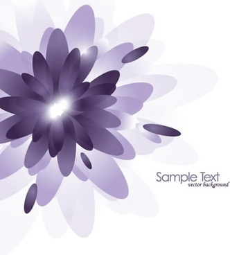 gorgeous purple background vector elements