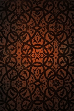 gorgeous retro pattern background 03 hd picture