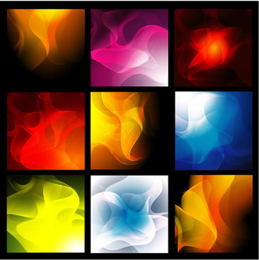 gorgeous smoke background vector