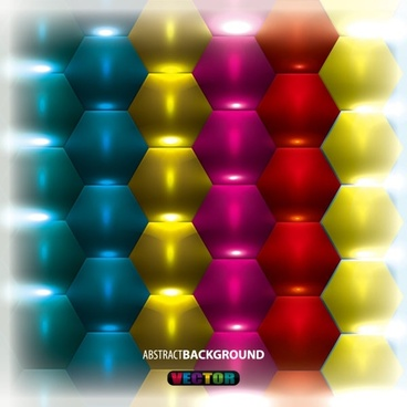gorgeous threedimensional background 03 vector