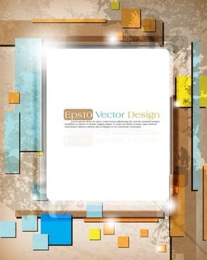 gorgeous threedimensional dynamic background 02 vector