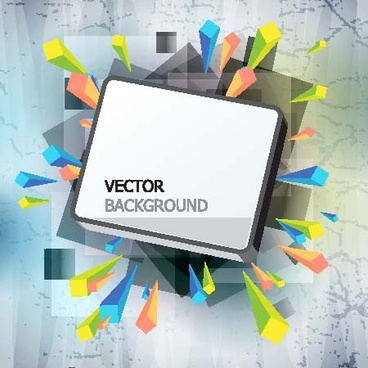 gorgeous threedimensional vector illustration background 1