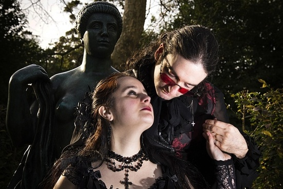 gothic casal statue