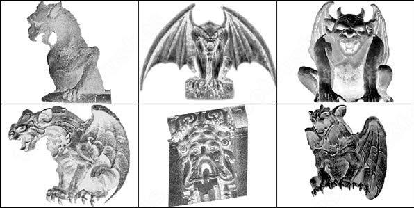 gothic gargoyles brush