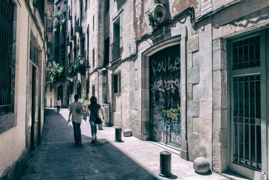 gothic stroll barcelona