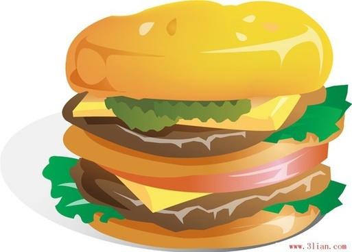 gourmet burgers vector