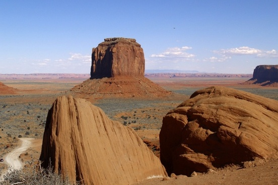 graceful monument valley utah