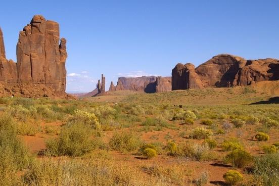 graceful monument valley utah