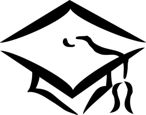 Graduation Clothing Cap clip art