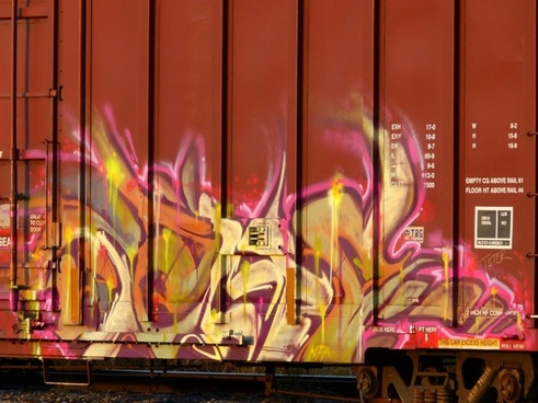 graffiti colorful art