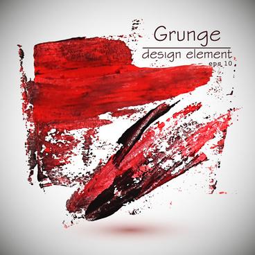 graffiti dark red grunge background vector