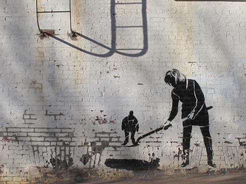 graffiti drawing asheville