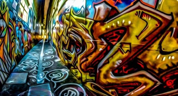 graffiti grunge paint