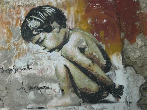 graffiti little boy granada graffiti from