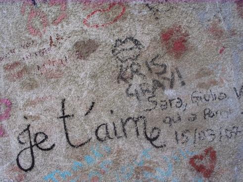 graffiti paint painted wall