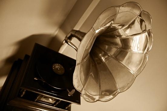 gramophone music old school