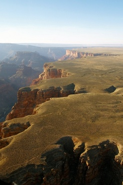 grand canyon aerial view arizona