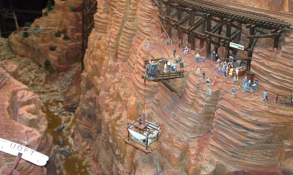 grand canyon in miniature wonderland