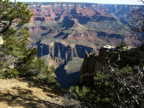 grand canyon landscape arizona